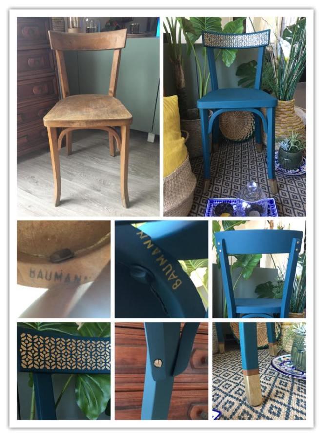 chaise majorelle